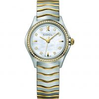 Damen Ebel New Wave Diamond Watch 1216351