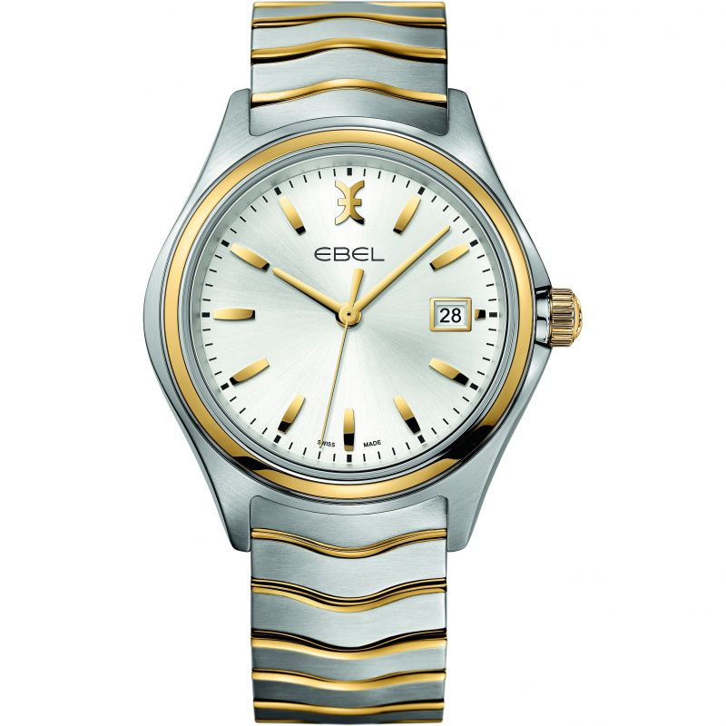Mens Ebel New Wave 18ct Gold Watch
