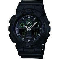 Zegarek męski Casio G-Shock Military Black GA-100MB-1AER