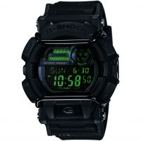 homme Casio G-Shock Military Black Alarm Chronograph Watch GD-400MB-1ER