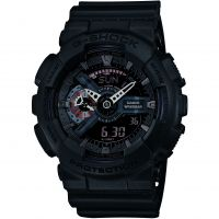 Herren Casio G-Shock Military Black Alarm Chronograph Watch GA-110MB-1AER
