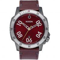 Herren Nixon The Ranger Leder Uhr