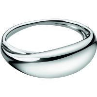 Ladies Calvin Klein Stainless Steel Fluid Bangle KJ3XMD00010S