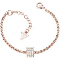 Ladies Guess Rose Gold Plated Bracelet UBB21578-S