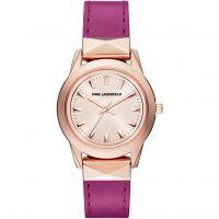 Damen Karl Lagerfeld Labelle Stud Watch KL3806