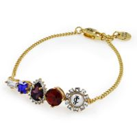 Juicy Couture Dames Bracelet PVD verguld Goud WJW608-710-U