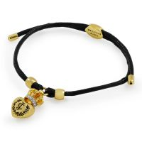 Juicy Couture Dames Bracelet PVD verguld Goud WJW622-001-U