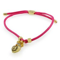 Juicy Couture Dames Bracelet PVD verguld Goud WJW622-653-U