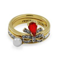 Gioielli da Donna Juicy Couture Jewellery Ring WJW604-710-7