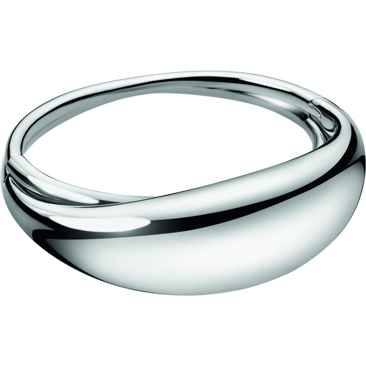 femme Calvin Klein Jewellery Fluid Bangle Watch KJ3XMD0001XS