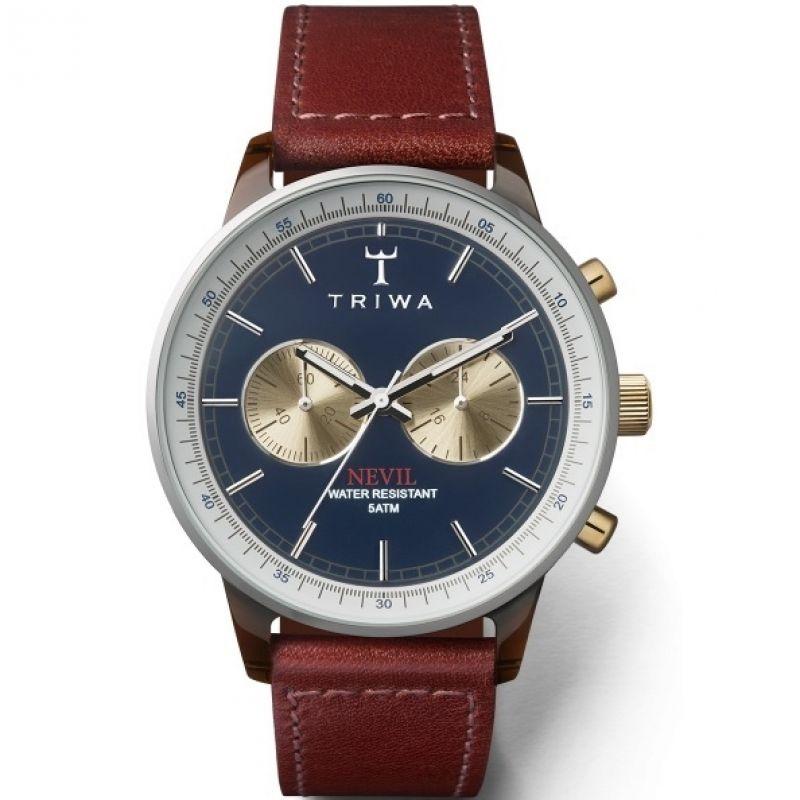 Unisex Triwa Nevil Chrono Chronograph Watch