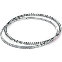 Ladies Fiorelli Sterling Silver Bangle