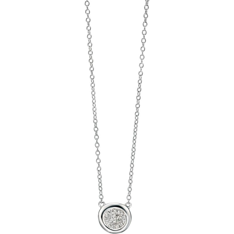 Ladies Fiorelli Sterling Silver Necklace N3727C
