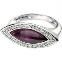 Ladies Fiorelli Sterling Silver & Amethyst Ring R3356ML