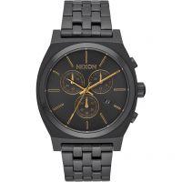 Unisex Nixon The Zeit Teller Chrono Chronograf Uhr