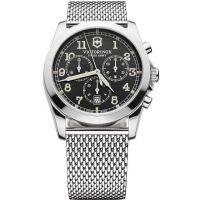 Herren Victorinox Schweizer Militär Chronograf Uhr