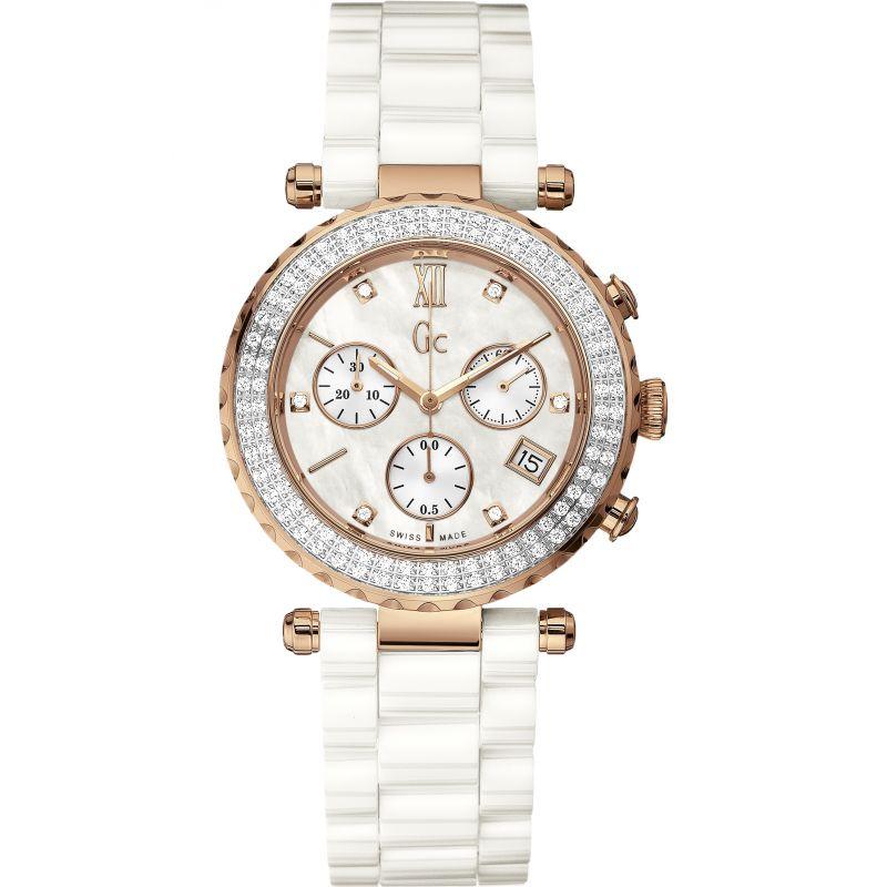 Ladies Gc Diver Chic Chronograph Diamond Watch