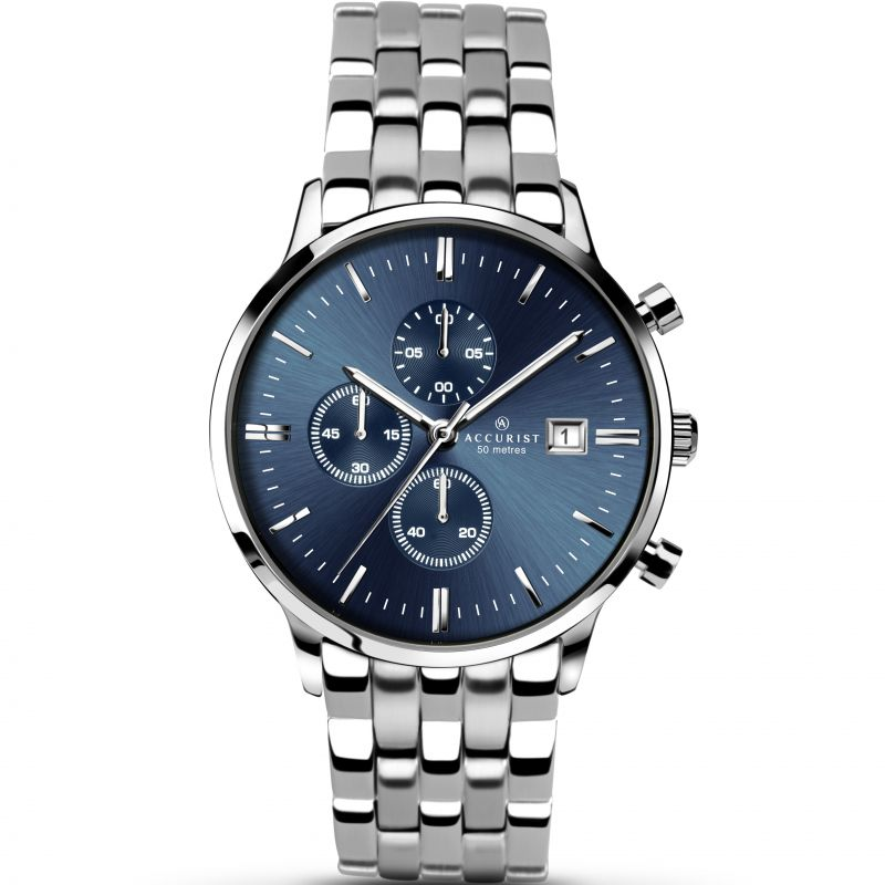 homme Accurist Chronograph Watch 7079