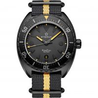 Mens Eterna Super Kon Tiki Black Limited Edition Automatic Watch