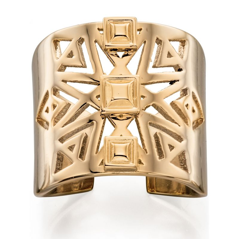 Ladies Fiorelli PVD Gold plated Ring R3399S