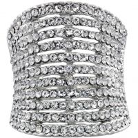 Ladies Fiorelli PVD Silver Plated Ring