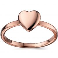 Ladies Fiorelli PVD rose plating Ring