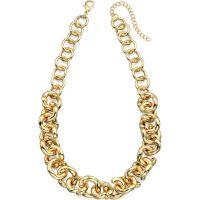 Damen Fiorelli PVD Gold überzogen Halskette