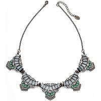 Ladies Fiorelli Black Ion-plated Steel Necklace N3887