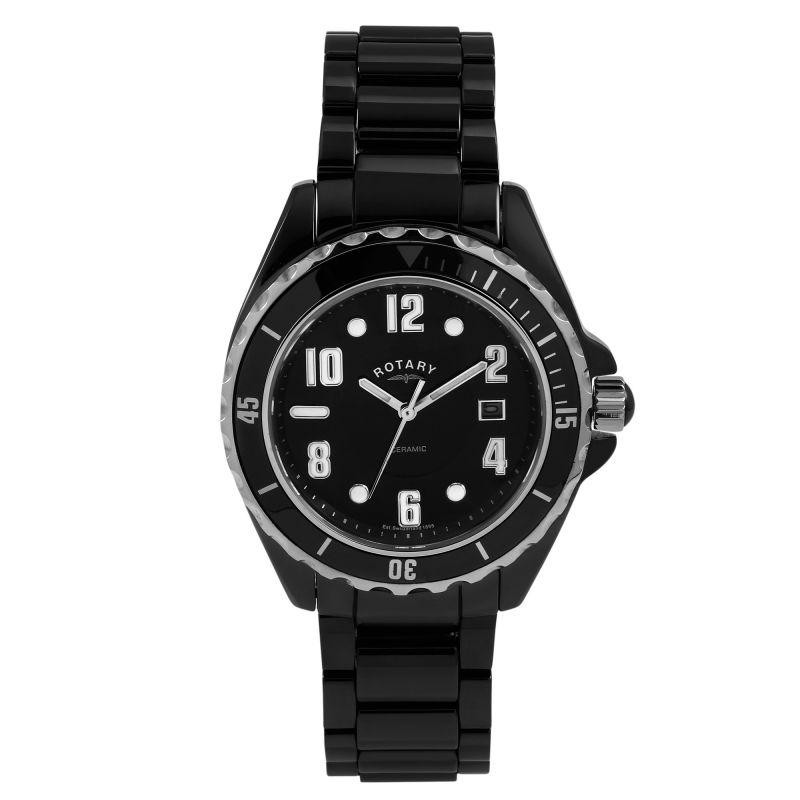 Mens Rotary Ceramic Watch