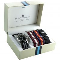 Orologio da Uomo Smart Turnout STJ/52/003/BK/W-SET