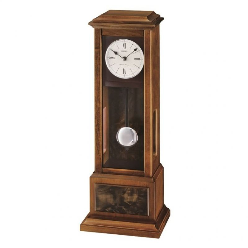 Seiko Clocks Wooden Wall Mantel Chiming Pendulum Clock