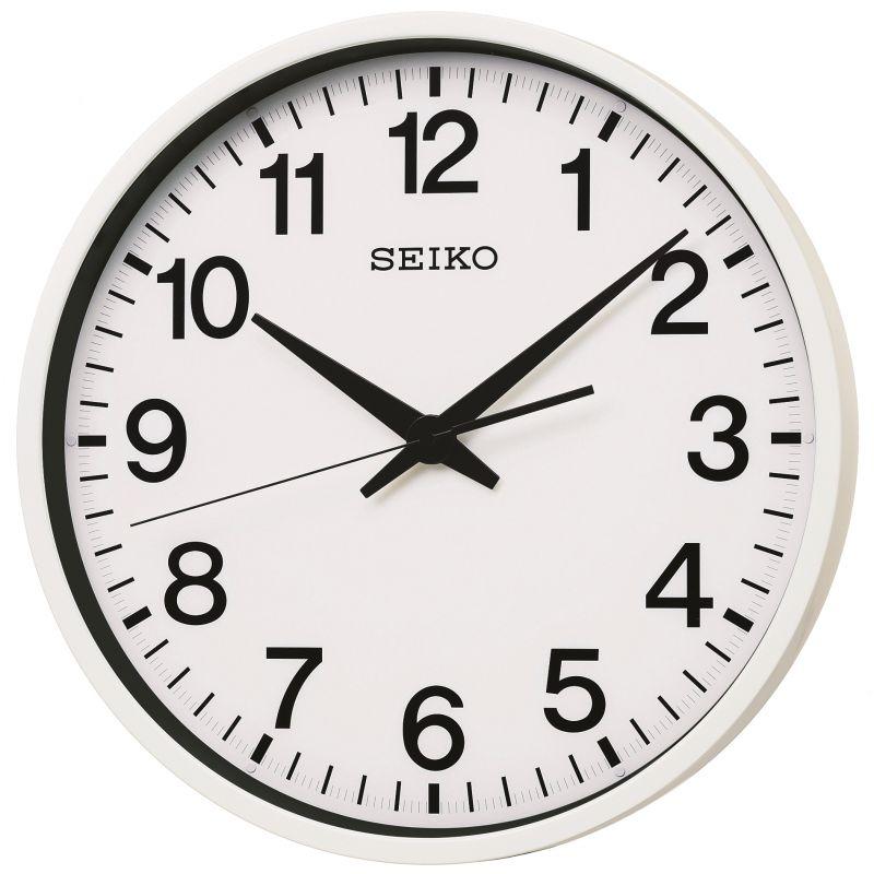 Seiko Clocks Spacelink GPS Wall Clock Radio Controlled