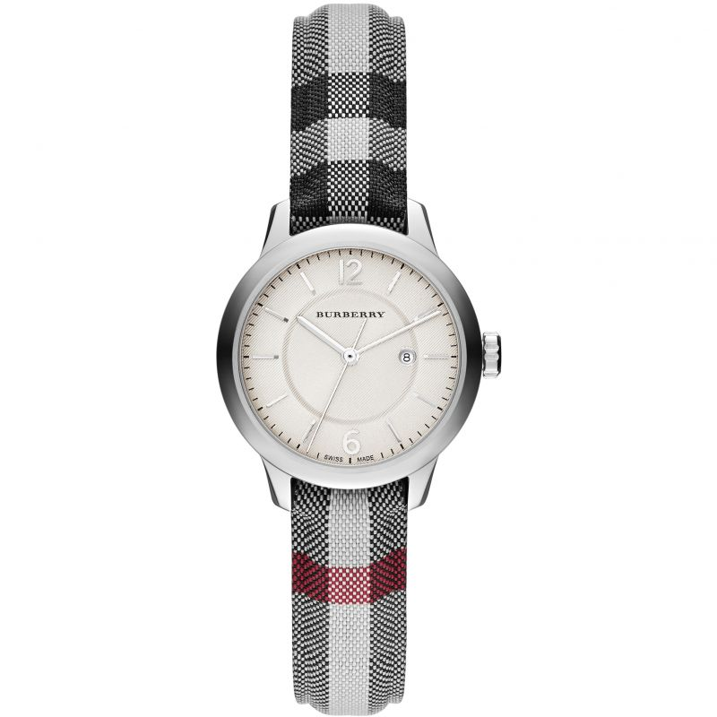 Ladies Burberry The Classic Horseferry Check Watch BU10103