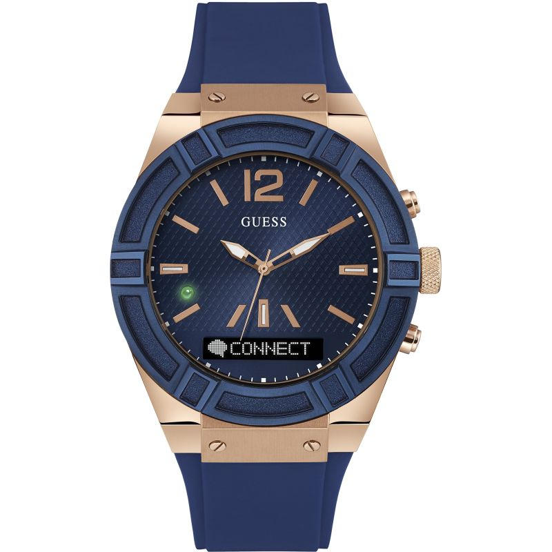 Unisex Guess Connect Bluetooth Hybrid Smartwatch Watch