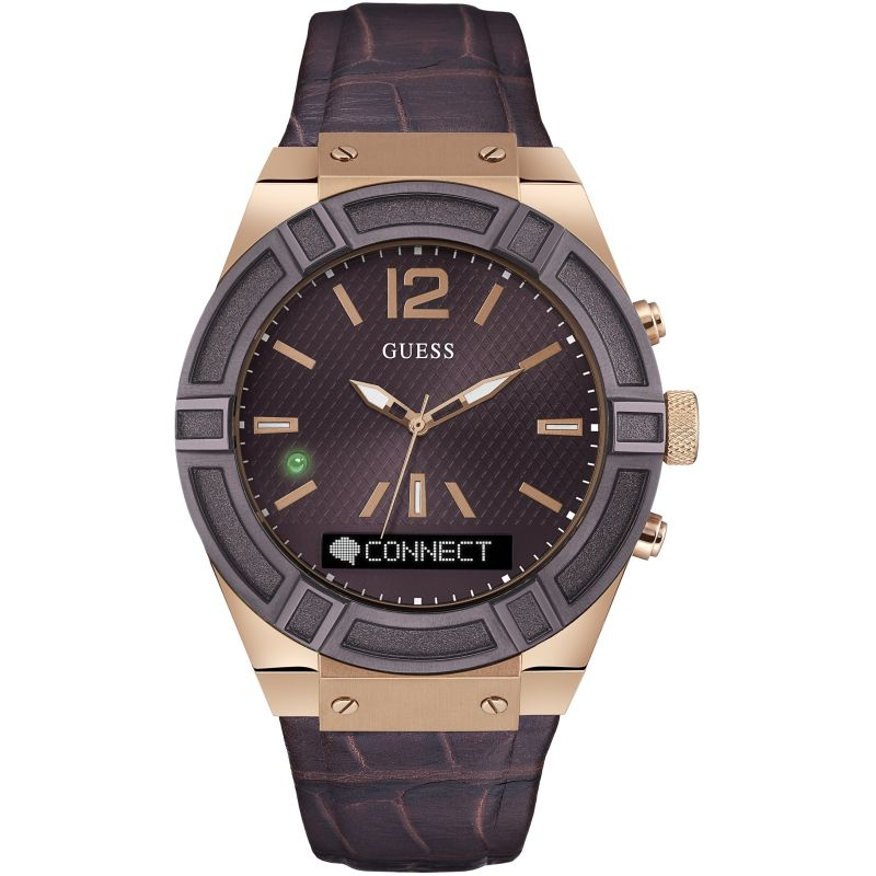Unisex Guess Connect Bluetooth Hybrid Smartwatch Watch C0001G2