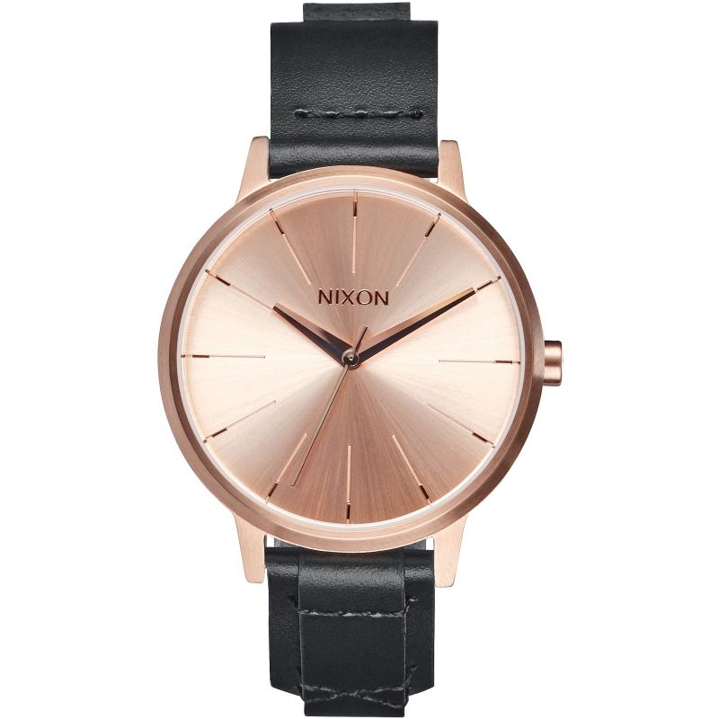 Ladies Nixon The Kensington Leather Watch A108-2159