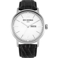 Ben Sherman London BIG PORTOBELLO PROFESSIONAL Herenhorloge Zwart WB046B