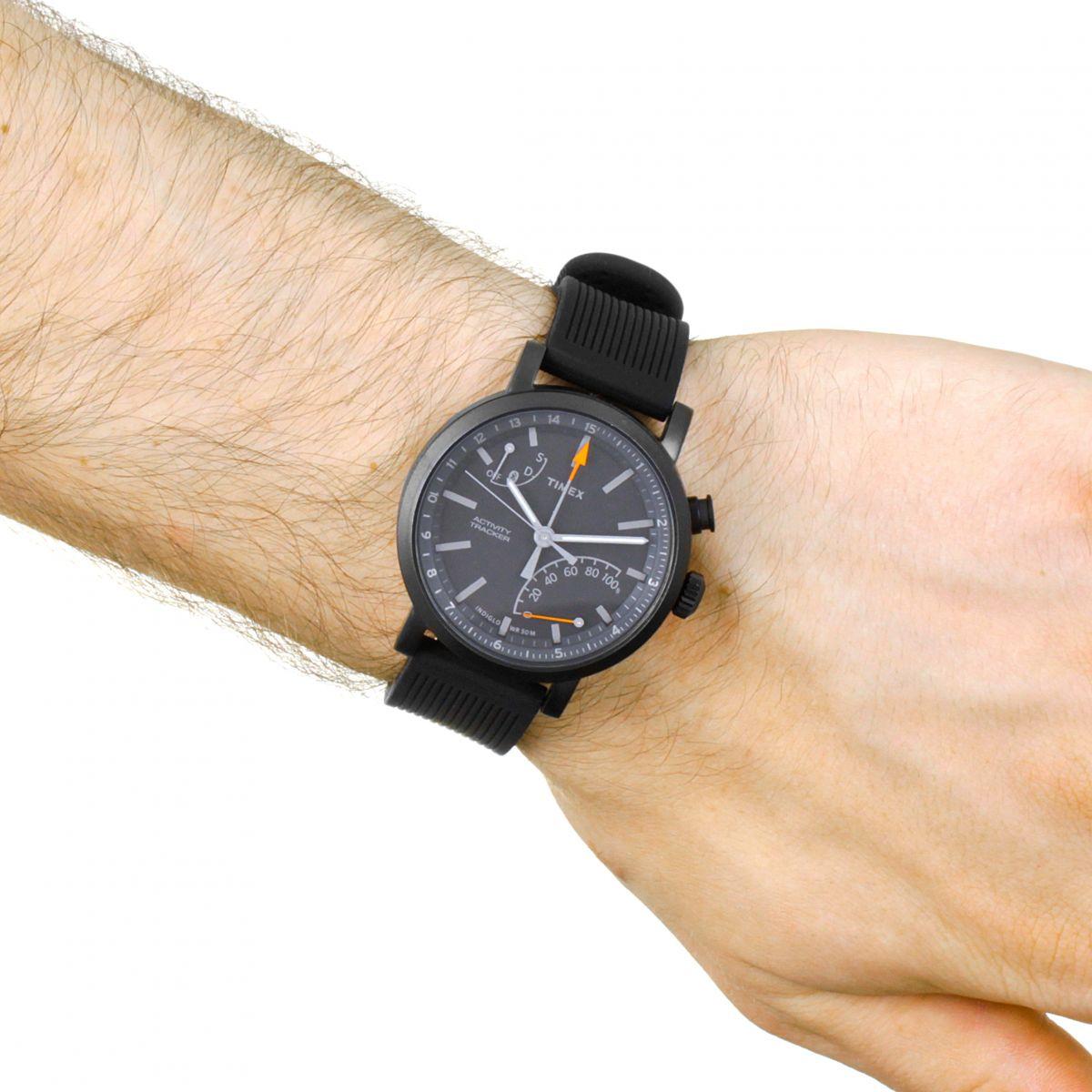 homme timex metropolitan activity tracker bluetooth hybride smartwatch montre twg012600. Black Bedroom Furniture Sets. Home Design Ideas