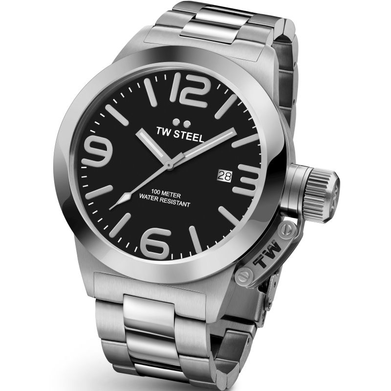 Mens TW Steel Canteen 45mm Watch CB0001