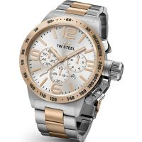 homme TW Steel Canteen Chronograph 45mm Watch CB0123