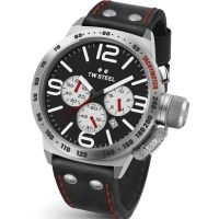 homme TW Steel Canteen Chronograph 45mm Watch CS0007
