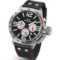 Herren TW Steel Canteen Chronograph 45mm Watch CS0007