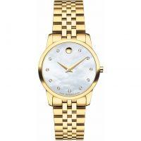 Damen Movado Museum Classic Diamond Watch 0606998