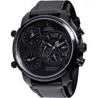 Herren Detomaso Casabona multifunktional Schwarz Edition Uhr
