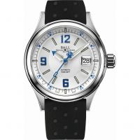 homme Ball Fireman Racer Watch NM2088C-P2J-WHBE