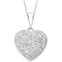 Biżuteria damska Jewellery Essentials Diamond Heart Pendant AJ-12142519