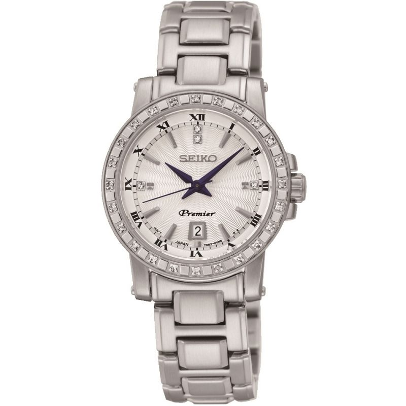 Ladies Seiko Premier Diamond Watch SXDG57P1