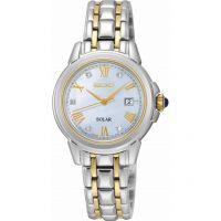 Damen Seiko Diamond Solar Powered Watch SUT244P9