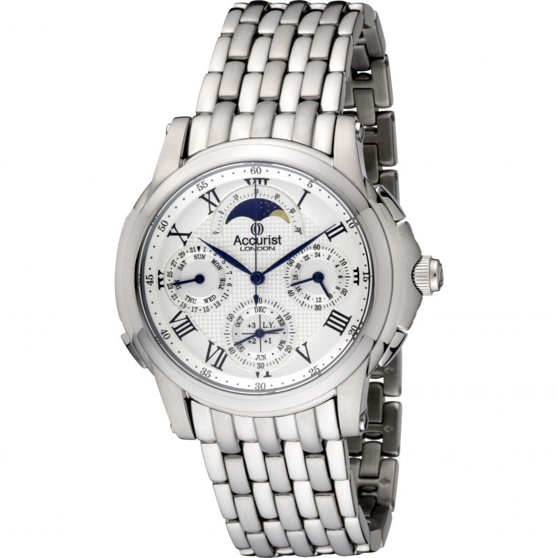 Mens Accurist GMT Chronograph Watch
