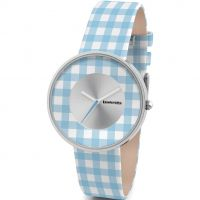 femme Lambretta Cielo Vichy Watch 2107BLU